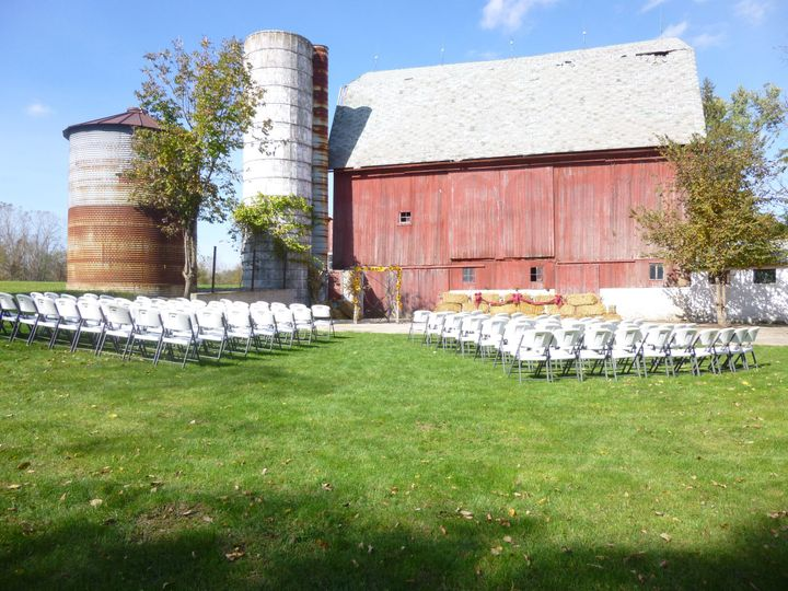 Barn wedding venue