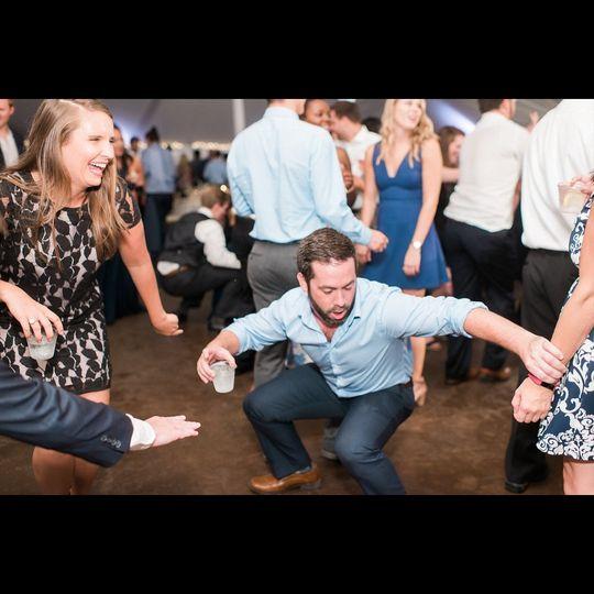 Get low on the dance floor!