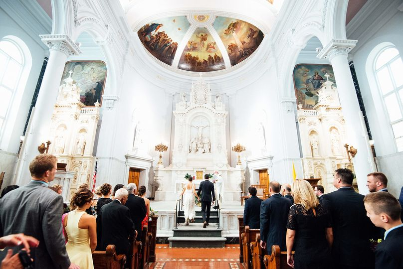 A gorgeous wedding in Detroit, Michigan.