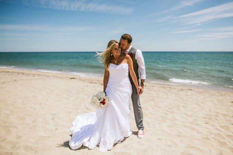 Beautiful photos on the beach