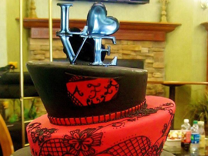 Tmx 1346303151455 IMG0895Copy Clermont wedding cake
