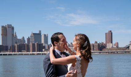 The wedding of Jacqui and Chris