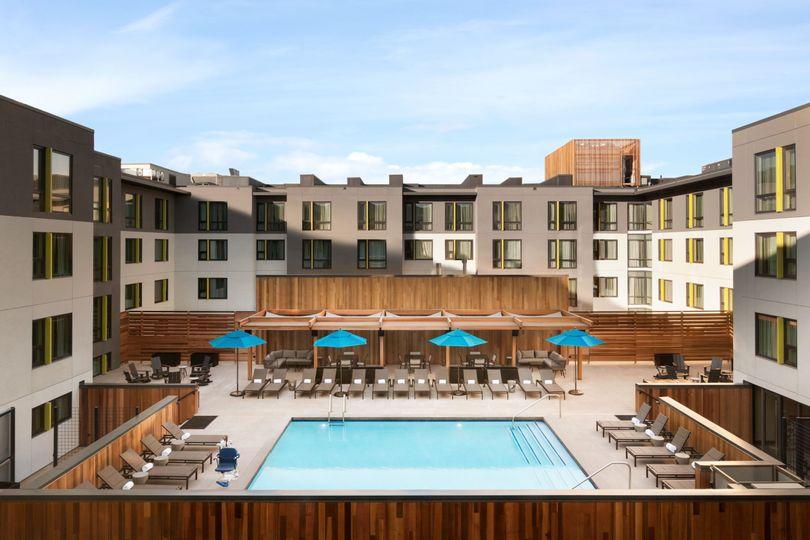 Embassy suites pool deck
