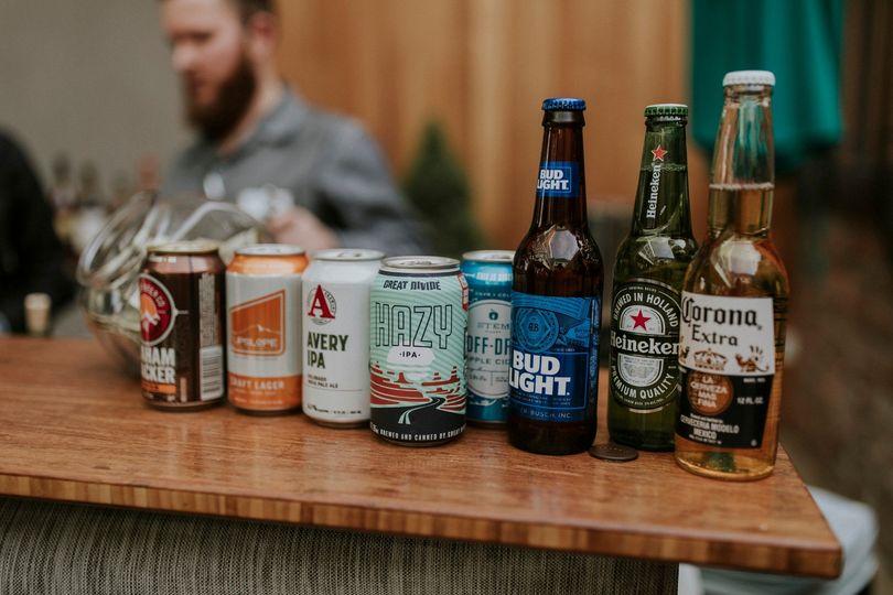 Beer display!