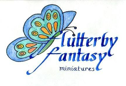 Design incorporates customers love for butterflies while using the first letters of the business...