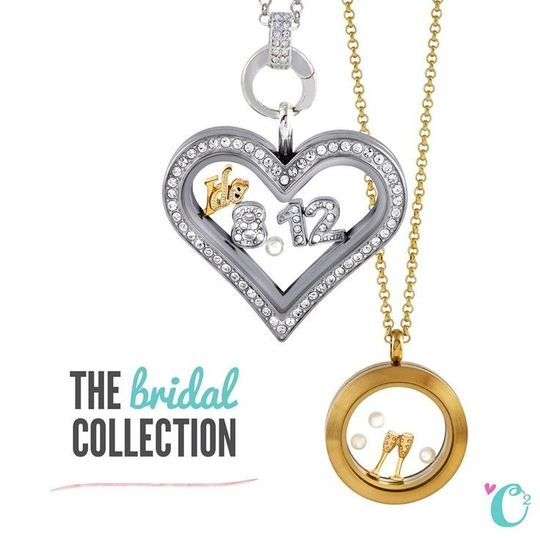 Say {I Do} to the new Origami Owl Living Lockets Bridal Collection! Find this look today at...