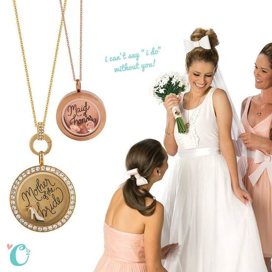 This is the perfect way to show how much your bridal party means to you! Origami Owl's Bridal Line!...