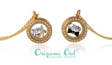 Customized bridal locket necklaces and bracelets!  Create your unique look online today at...