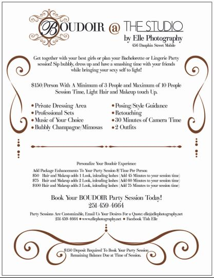 boudoir group pricing sheet 1