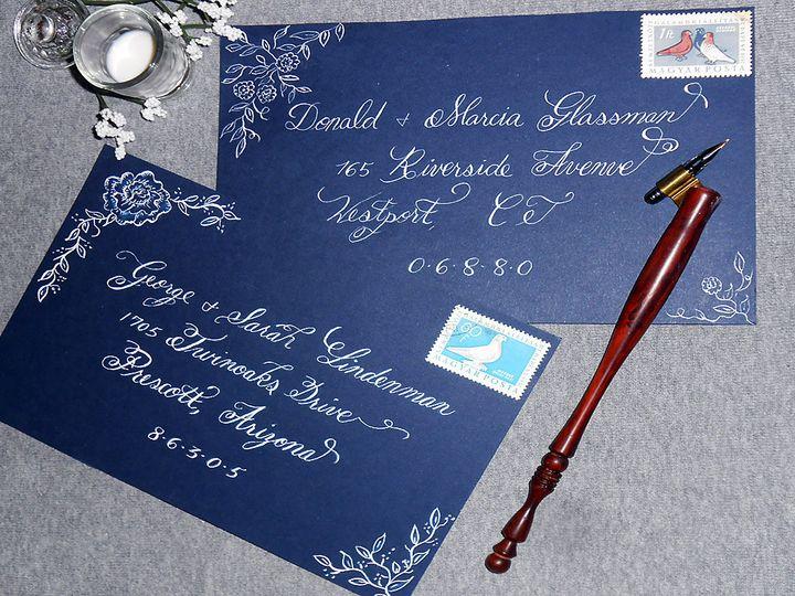 Tmx 1490896757522 Calligraphy Envelopes 1edited 1 Catskill, New York wedding invitation