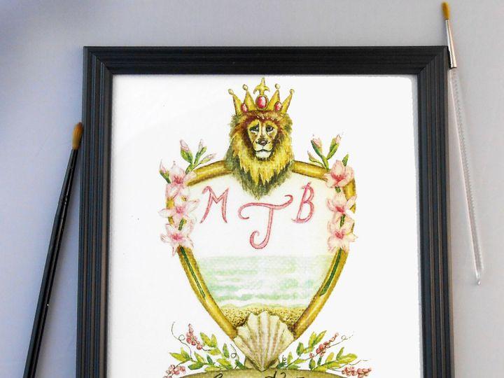 Tmx Family Crest Logo Heraldry Coat Of Arms 51 969532 Catskill, New York wedding invitation