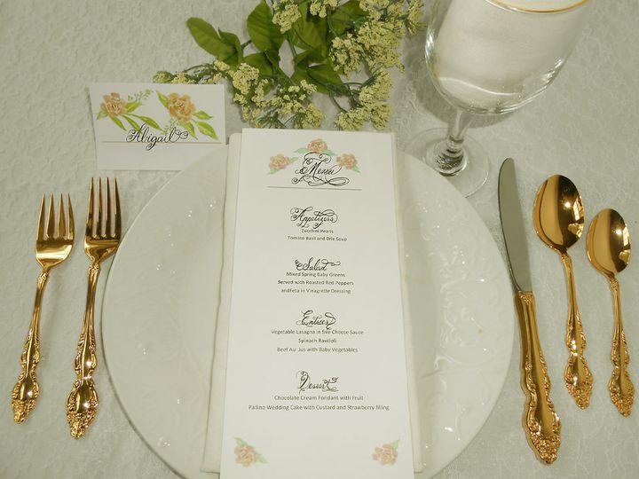 Tmx Menu Calligraphy 51 969532 Catskill, New York wedding invitation