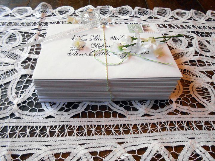 Tmx Wedding Envelope Addressing 5l 51 969532 Catskill, New York wedding invitation