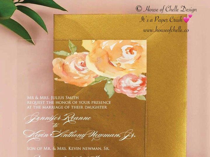 Tmx Acrylic Invitation Jennifer 51 430632 Arlington, District Of Columbia wedding invitation
