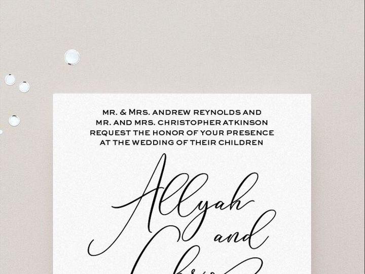 Tmx Allyah Invitation 51 430632 Arlington, District Of Columbia wedding invitation