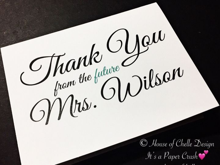 Tmx Bridal Shower Thank You Note With Envelope 2 51 430632 1557946476 Arlington, District Of Columbia wedding invitation