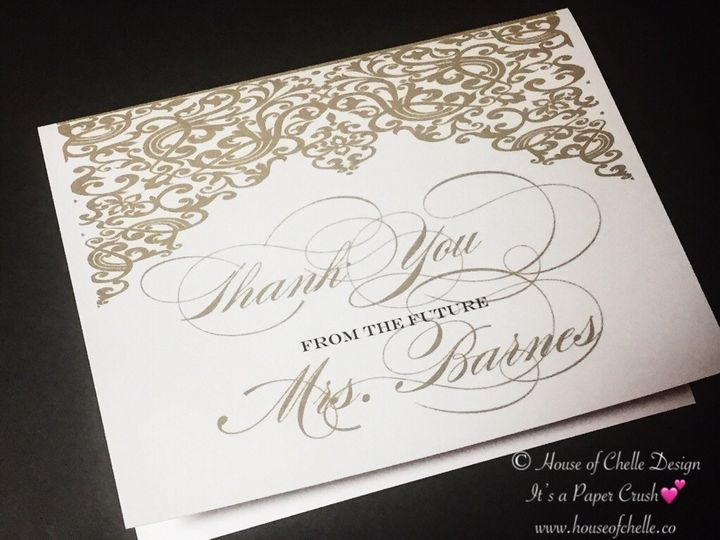 Tmx Bridal Shower Thank You Note With Envelope 4 51 430632 1557946486 Arlington, District Of Columbia wedding invitation