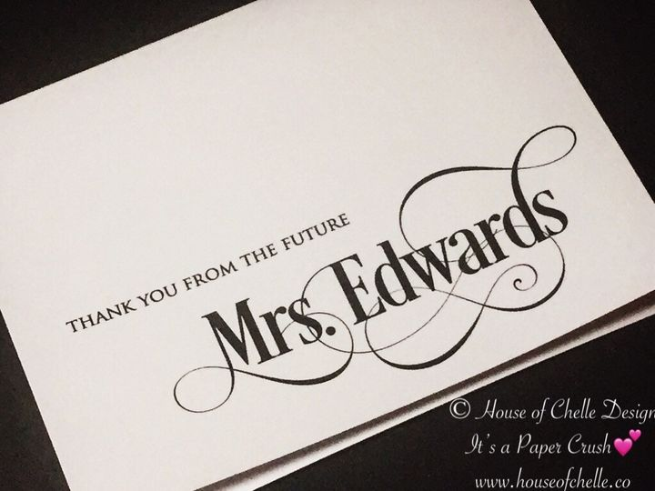 Tmx Bridal Shower Thank You Note With Envelope 51 430632 1557946491 Arlington, District Of Columbia wedding invitation