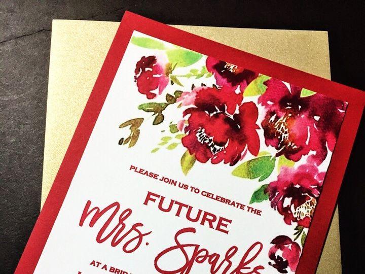 Tmx Floral Bridal Shower Invitation 51 430632 1557946504 Arlington, District Of Columbia wedding invitation