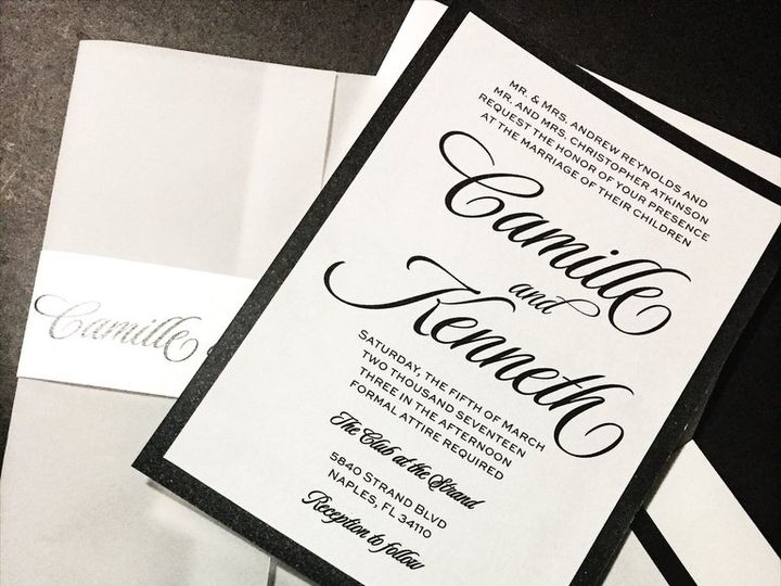 Tmx Vellum Wedding Invitation Camille Black And White With Belly Band 1 51 430632 1557888964 Arlington, District Of Columbia wedding invitation