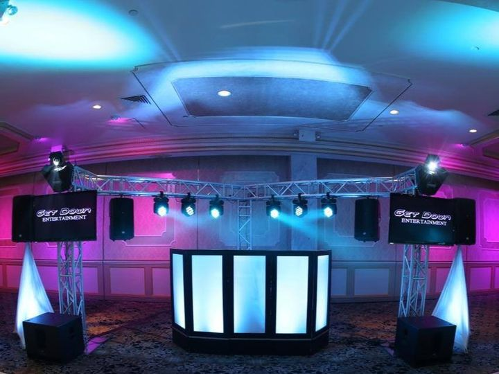 Tmx 1415038556473 Full Set Up With Out Percussion Xl Trussing Valhalla, NY wedding dj
