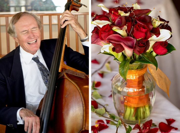 Music and flower details from a fantastic wedding at the Albion River Inn, on the Mendocino Coast of...