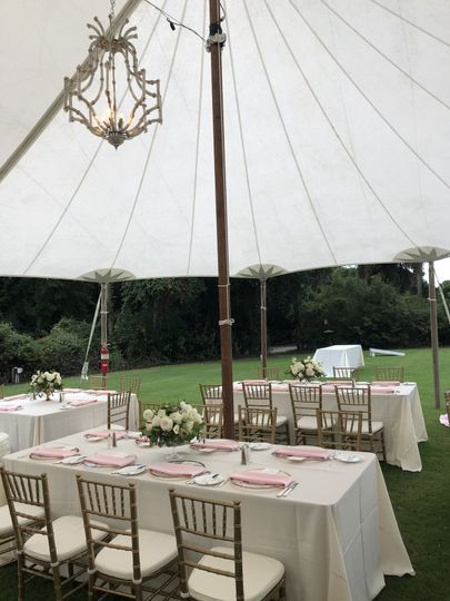 Lower lawn tent