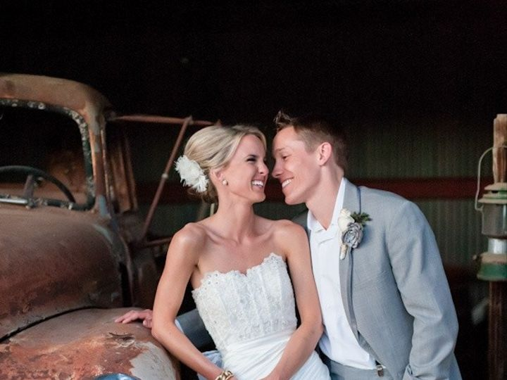 Tmx 1430924235711 Wedding Couple In Barn With Truck Jackson, NH wedding transportation