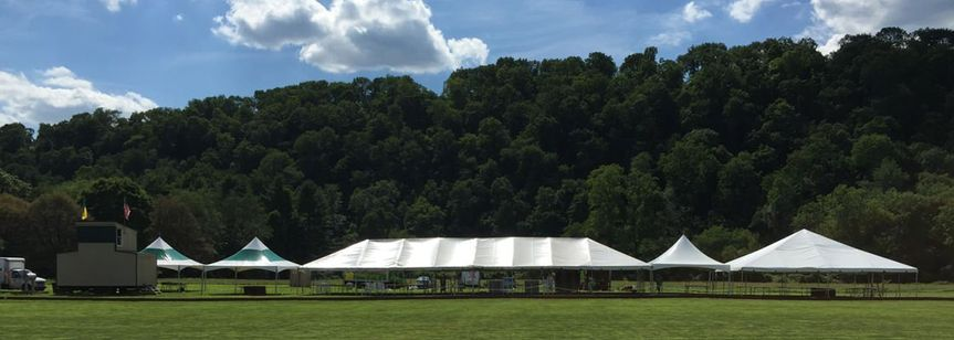 outdoor polo match ac party rentals