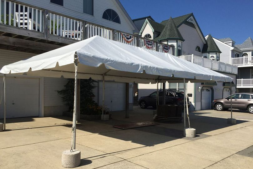 tent in ocean city nj by ac party rentals
