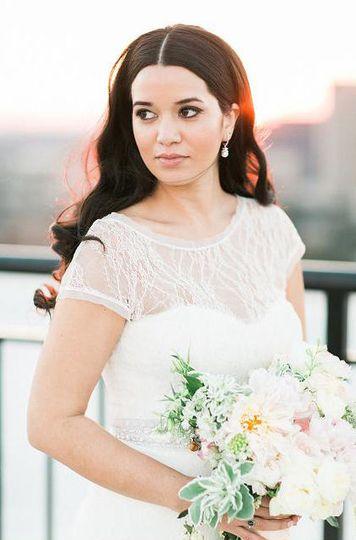 Midtown atlanta bridal hair
