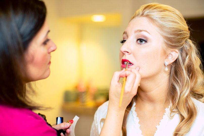 Tiffany stone makeup artist
