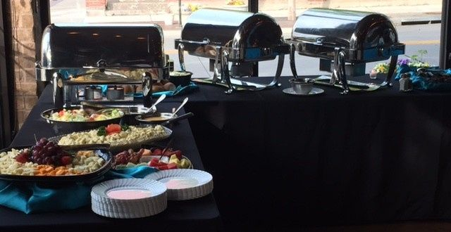 Tmx 1434138544619 Full Service Buffet Set Up Lees Summit wedding catering