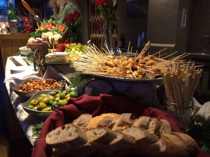 Tmx 1426619558805 Apps Display Ojai Vineyard Ventura wedding catering
