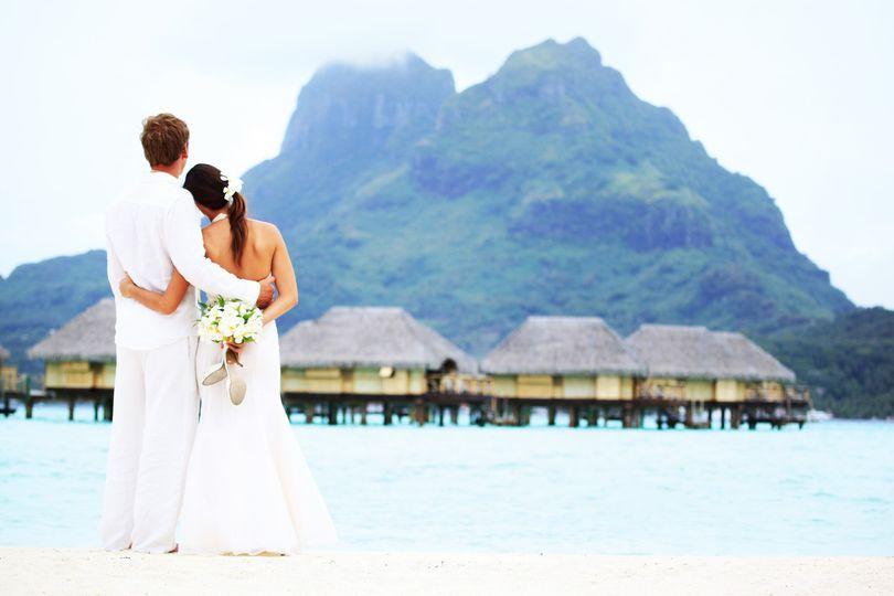 Wedding Bora Bora Pearl Resort