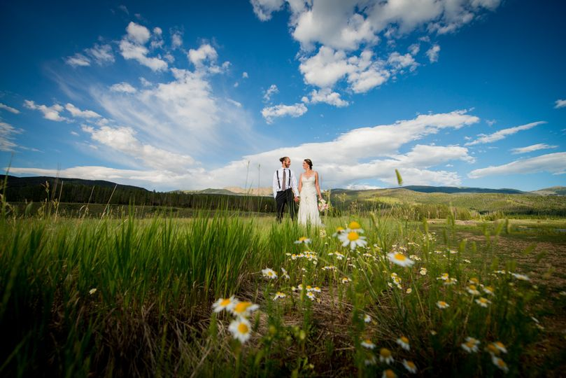 devils thumb ranch mountain wedding photography