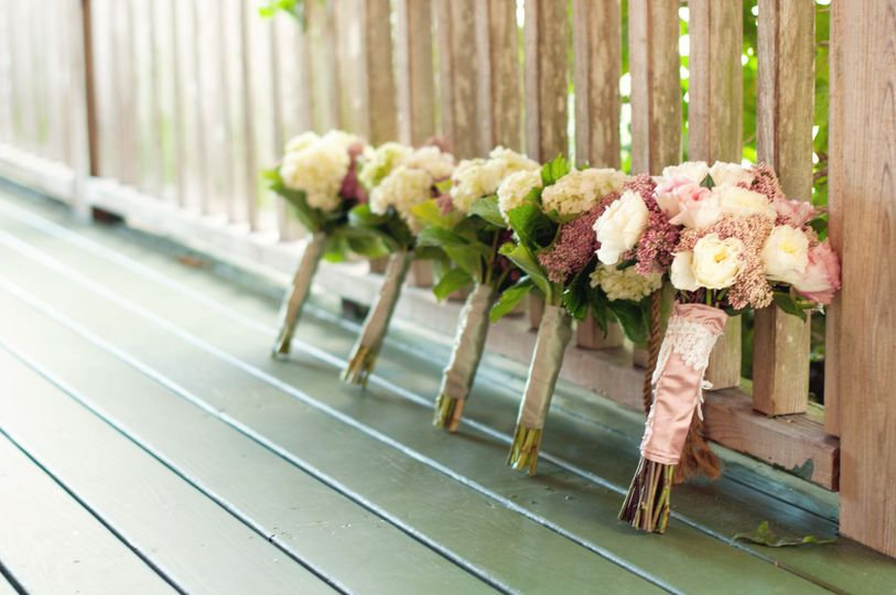 Bouquets on the Porch!