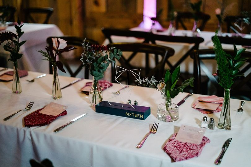 Table setting and design