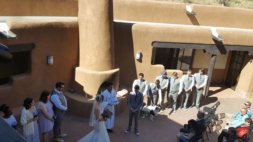 Wedding at Ghost Ranch NM