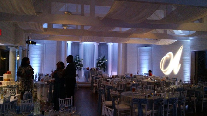 CB Entertainment provided DJ and Lighting services at the Fairy Tale Manor in Frisco. GOBO and room...