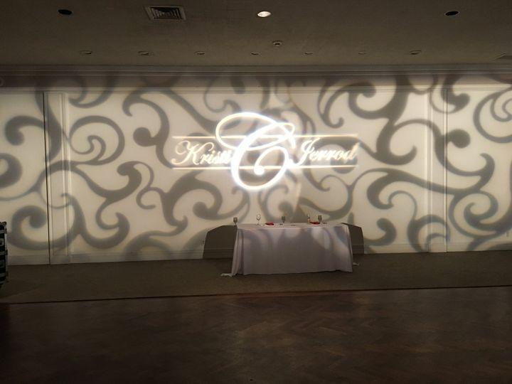 Wall pattern & custom gobo