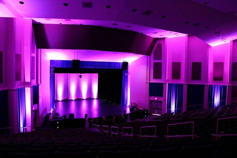 North Alabama Stage Lighting