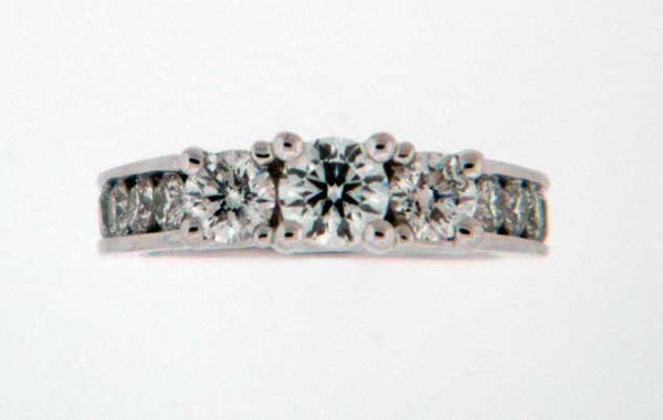 Tmx 1274378673057 PastPresentFutureRing4 Lansdale wedding jewelry