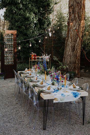 Van Gogh Floral Table Linen