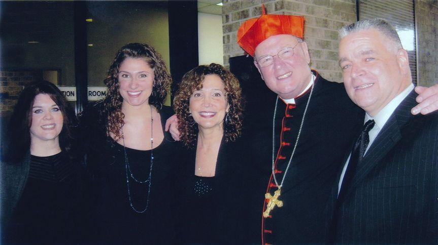 Service with Cardinal Dolan