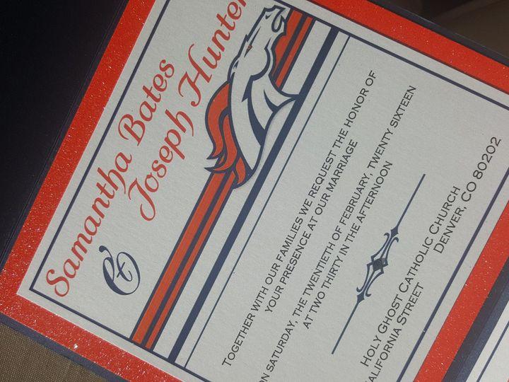 Tmx 1481140860313 20160208133317 Castle Rock, CO wedding invitation