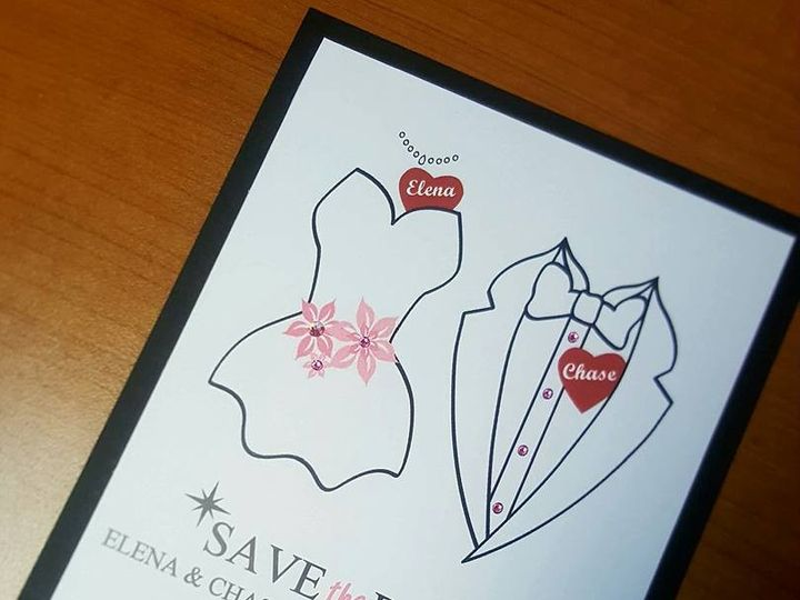 Tmx 1481141616371 14470442101543304497858603920106395938240441n Castle Rock, CO wedding invitation