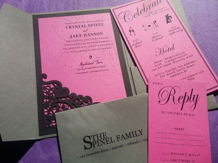 Tmx 15994625 10154658568320860 3571917884360793988 O 51 196732 Castle Rock, CO wedding invitation