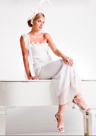 Sequin Pucker / Silk Plisse' Style #D1521SC
