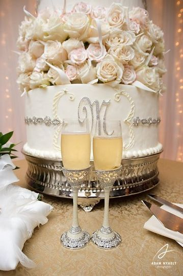 Cake and Champagne